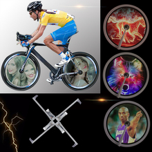 416leds Bike Accessories LED Programmable Wheel Light Glowing LED Bicycle wheel