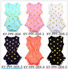 2016 wholesale carters baby clothes, newborn baby boutique soft cotton polk dot romper