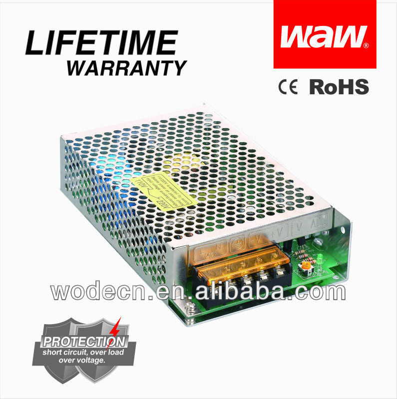S-60-12 60w smps CCTV power supply 12v 5a with CE,ROSH approved