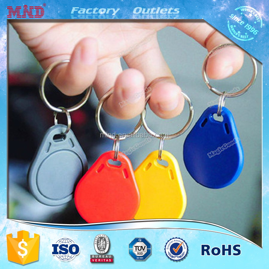 MDK32 Special Offer printable ABS 125khz rfid entry key fob tag