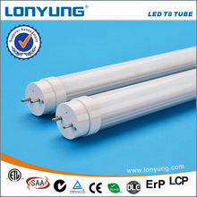 100% recyclable 50,000 hrs lifespan led tube light no flickering, delays or buzzing
