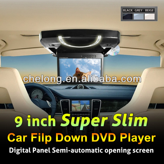 hot sale of car dvd player roof mount dvd player