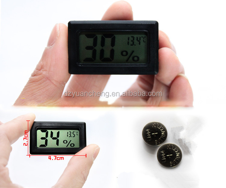 Mini Digital LCD Indoor Convenient Temperature Sensor Humidity Meter Thermometer Hygrometer Gauge Brand Ne
