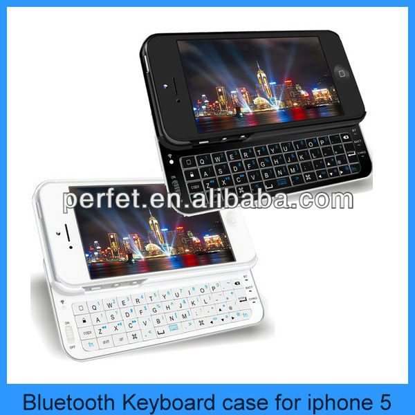 sliding wireless mini bluetooth keyboard for iphone 5