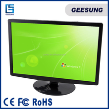 22 Inch LCD Monitor 5 Wire Resistive Touch Monitor With VGA+HDMI+AV Ports