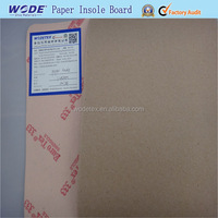 Paperboard insole for shoe making material