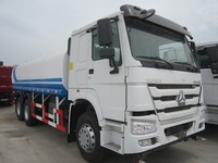 cheap sinotruk 6x4 336hp water tank truck for sale