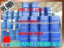 china best quality dichloromethane 99.95~99.99% solvent