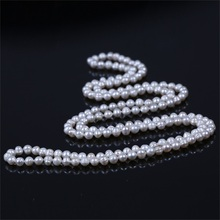 Fashionable New Design Handmade Long Chain Pearl Necklace