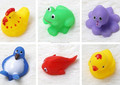 pvc animal toys bath toys vinyl toys,Costom Promotional Rubber Bath Toys,cute pvc squeaky toys for children