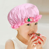 China OEM Sale Stock Cute Baby Bath Hat kids shower cap