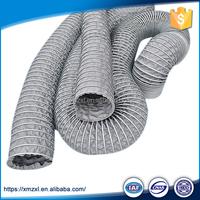 Reinforced PVC flexible ventilation air duct pipe