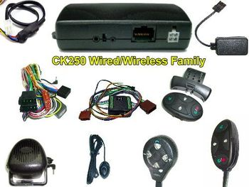 CK250 BLUETOOTH HANDSFREE CAR KIT (WIRED/WIRELESS)