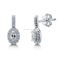 Beautiful 925 Sterling Silver Earrings With