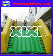 custom made inflatable zorb ball ramp xixi toys