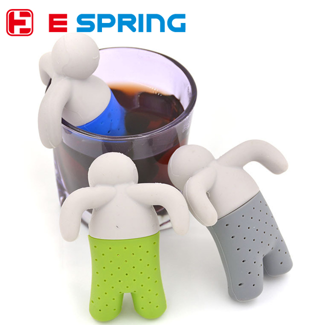 Cute Practical Teapot cute Mr Tea Infuser Tea Strainer Coffee & Tea Sets