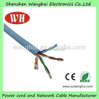 4 pairs cat5e network cable and interior low voltage utp cat5e cable