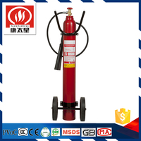 trolley 10kg co2 fire extinguisher