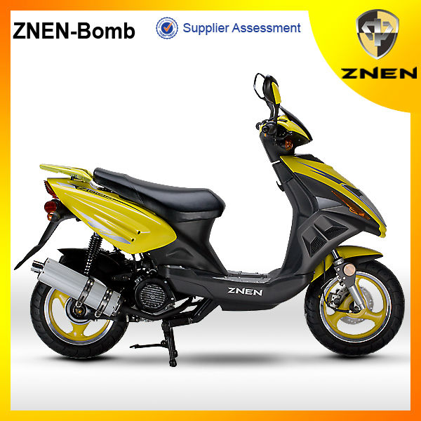 ZNEN--Bomb Motor gas scooter 50cc 4 stroke scooter EEC EPA DOT cheap scooter