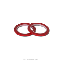 Adhesive tape,mara tape,polyester insulation tape(red color)