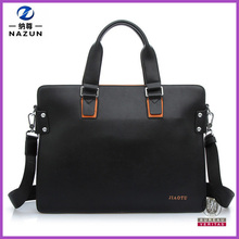 Business Fashion Simple Tote Style PU Men's Handbag Briefcase