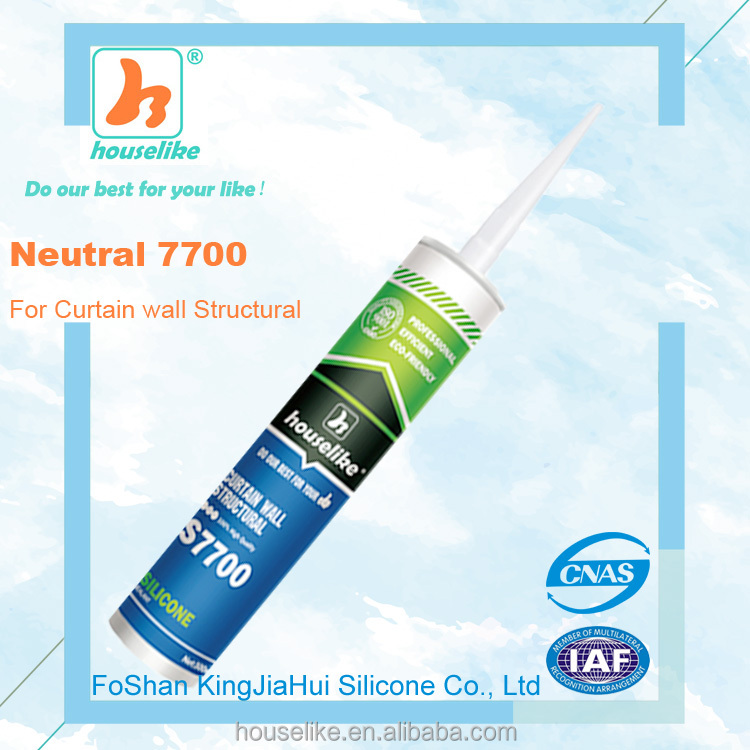 quick drying curtain wall structural neutral silicone sealant