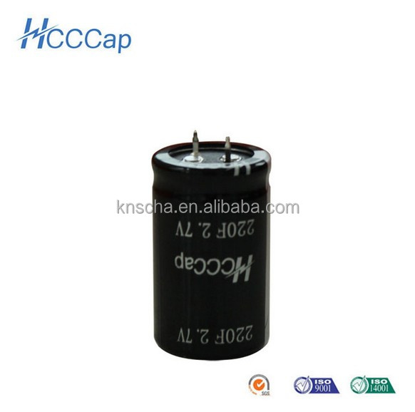 super capacitor 2600f 2.7v, ultracapacitor for power supply Low ESR & high power