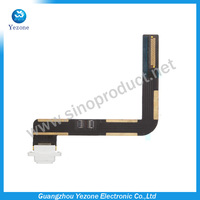 Charger Charging Port Dock Connector with Flex Cable for Apple iPad Air White