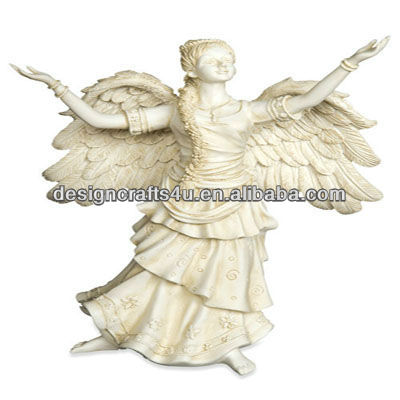 Wholesale Dancing Angle Cemetery Statues
