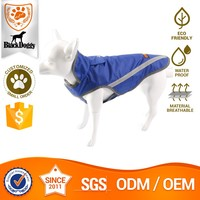 Customized Polyester Pet Clothes Dog Raincoats And Jackets Calming Coat For Small Dogs