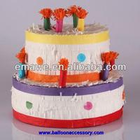 Handmade Craft Paper Cake Pinata For