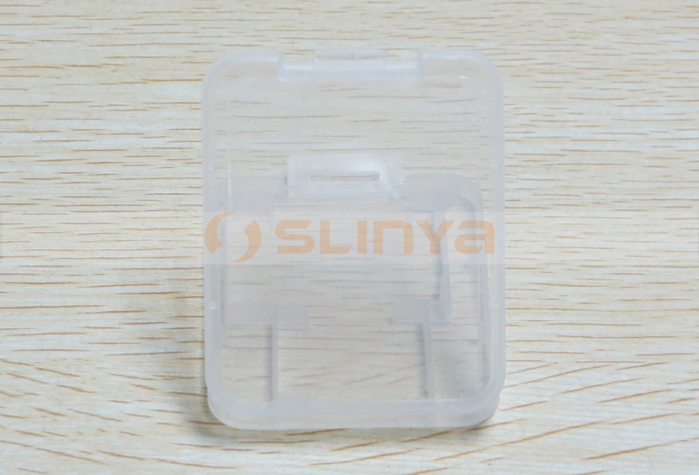 Plastic Card Case for Mini SD Card Case and Mini SD Card Case Holder