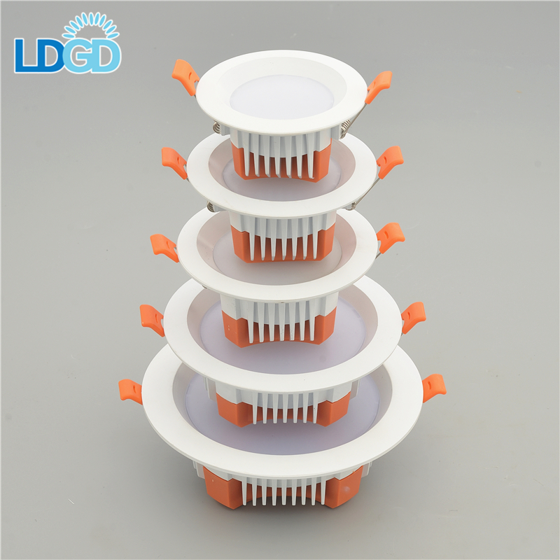 New Arrival UL Certified Best Long Lifespans Square Trimless COB LED Light 3W 5W 7W Downlights