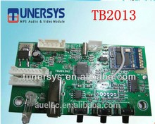 Tunersys customized TB2013 wholesale usb bluetooth radio mp3 board module sell like hot cakes