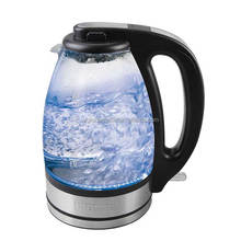 1.7L electric kettle with blue LED light