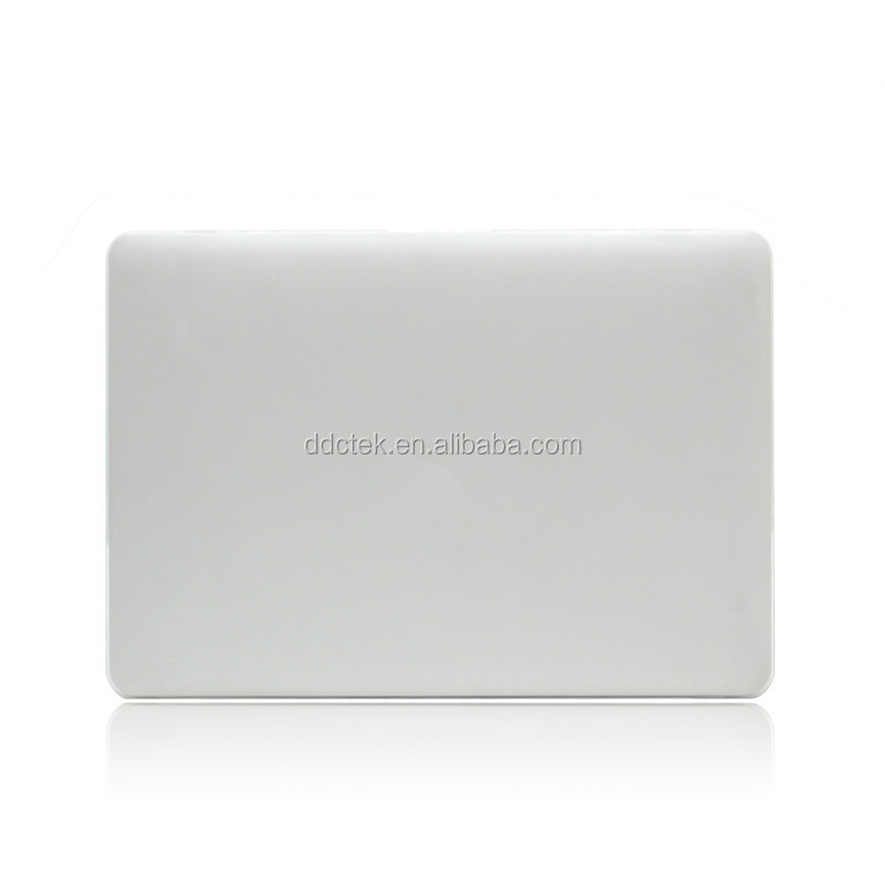 Laptop full body protection case shell cover Silver color