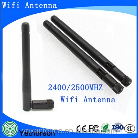 High quality 2.4GHz 3dBi RP-SMA Wifi antenna for mini PC PCI Card