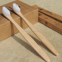 oem manufacturing 100% biodegradable bamboo toothbrush