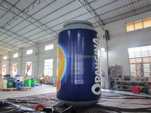 Custom inflatable pepsi can giant inflatable red bull can beer can for sale