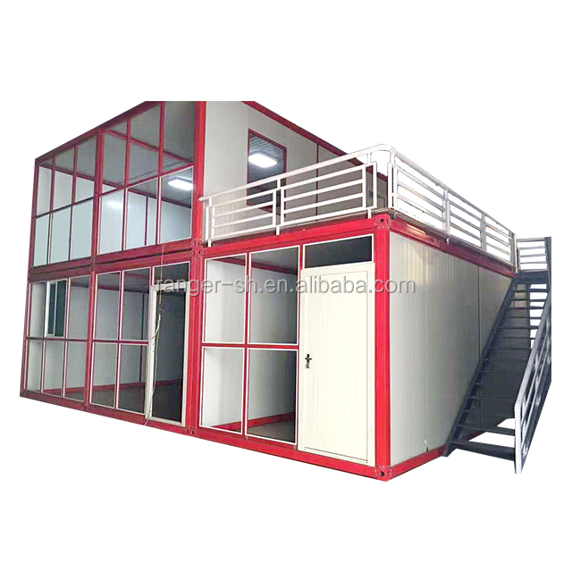 Hot selling 20 ft portable modular folding container house for sale