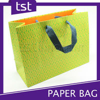 KD033 Taiwan Wholesales color Printing Coated Paper Eco Shoe Bag