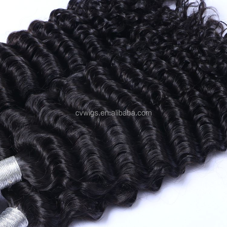 High quality natural raw hair,unprocessed brazilian human burmese curly hair