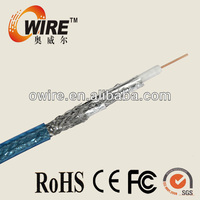Good Performance RG6 coaxial cable with electrical characteristics