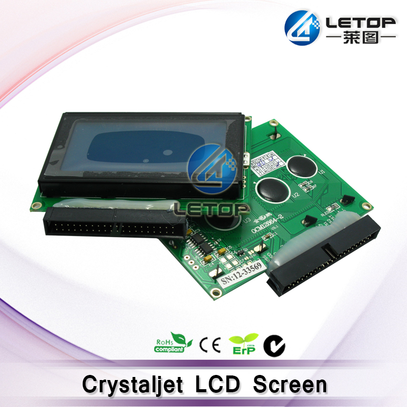 Excellent quality!! crystal 3000 printer green lcd screen wholesale