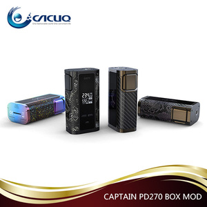 2017 trading product ijoy Captain PD270 box mod use 20700 battery