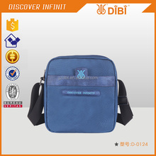 D-0124 cross body lightweight navy blue tablet computer messager bag for man