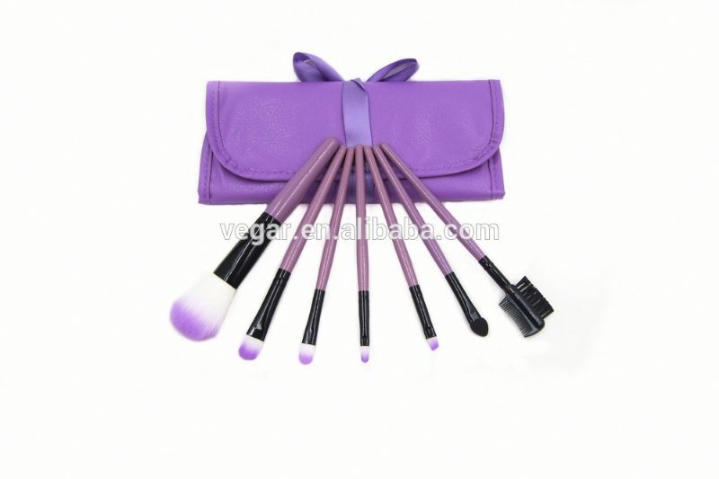 1set=7pcs Pro makeup brushes set No logo! hyun color sparkle make up brush