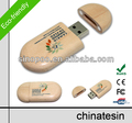 Hot Promotional Free Logo Classical Wooden USB Drive 1-128GB