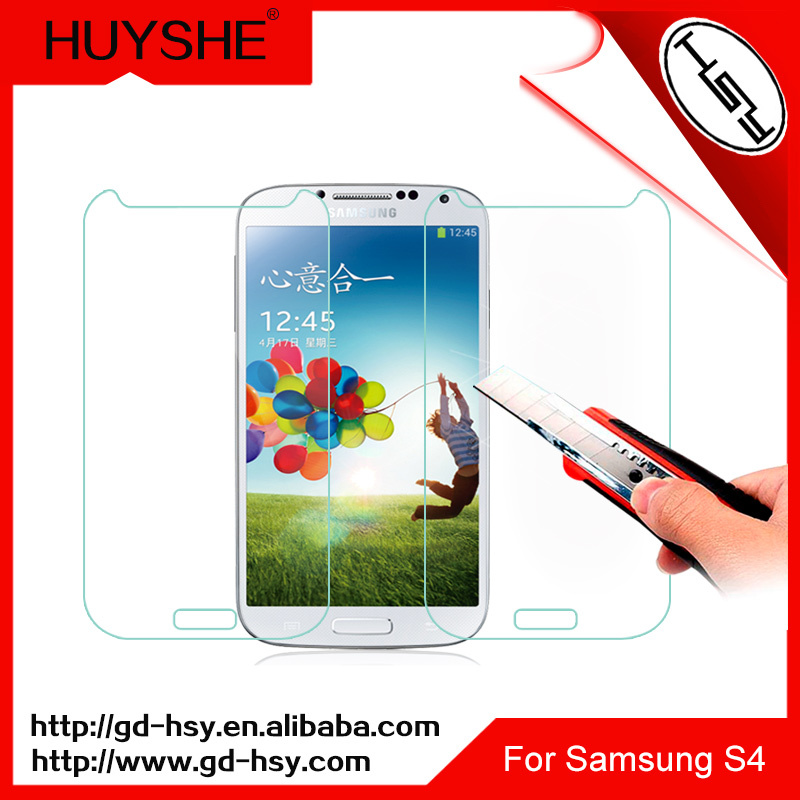 HUYSHE Tempered glass screen for samsung galaxy s4 glass screen protector for samsung s4 s5 s6 s7