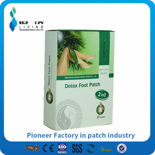 body pure toxin removal Foot Patch, Bamboo Slimming Detox Foot Patch with medicine adhesive.OEM Package